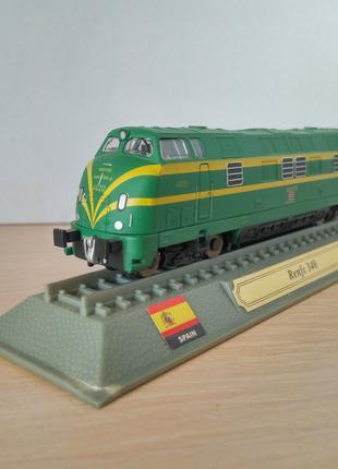 Модель локомотив Del Prado (Испания) Renfe 340 - Spain, 1:160
