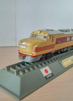 Модель локомотив Del Prado (Испания) Kiha 81 Series - Japan 1:160