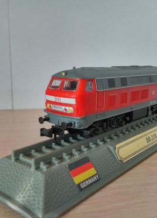 Модель локомотив Del Prado (Испания) BR 218 Масштаб 1:160