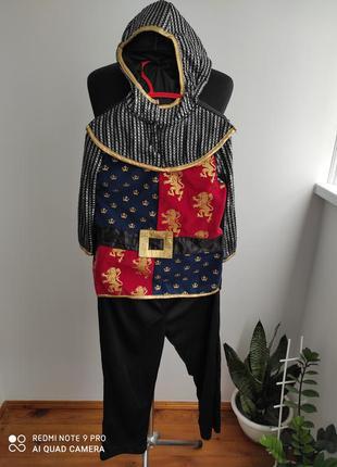 Карнавальный, костюм на хеллоуин рыцарь, крестоносец от tu
