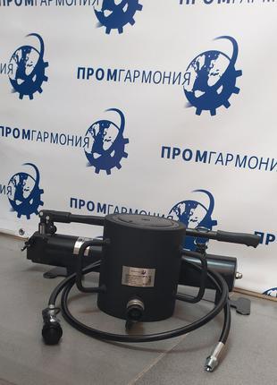 Домкрат гидравлический 100т с пружинным возвратом поршня 100мм