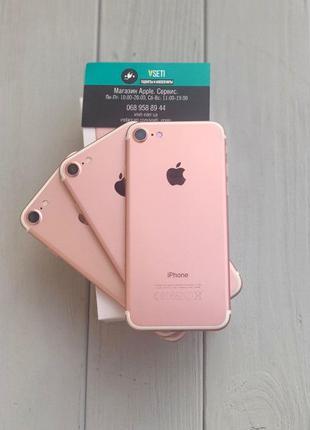 Apple iPhone 7 32 GB ROSE GOLD! / Розовое Золото! Айфон 128 / ...