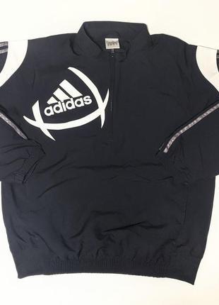 Adidas ветрозашитная куртка анорак | большой логотип