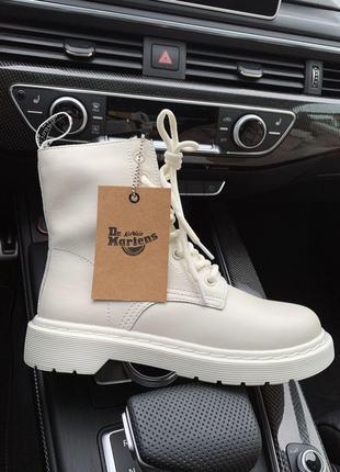 Dr.martens 1460 white cream  🆕 шикарные ботинки доктор мартинс...