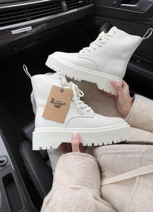 Dr.martens  jadon cream  🆕 шикарные ботинки доктор мартинс 🆕 к...