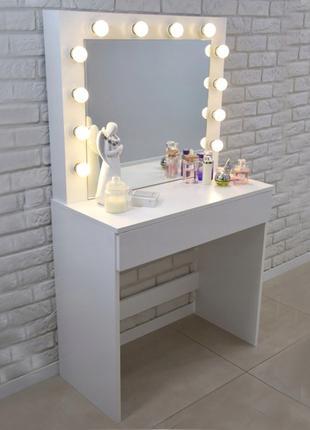 Стол для визажистов с подсветкой