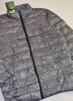Мужская демисезонная куртка из натурального пуха от watsons, г...