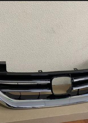 Решетка Капот Honda Accord 9 хром решетки аккорд 9