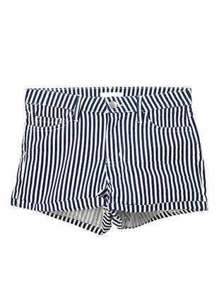 Короткие шорты из твила h&m