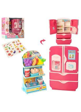Детская игрушка Холодильник 35882Dмузыка, звук, свет, продукты