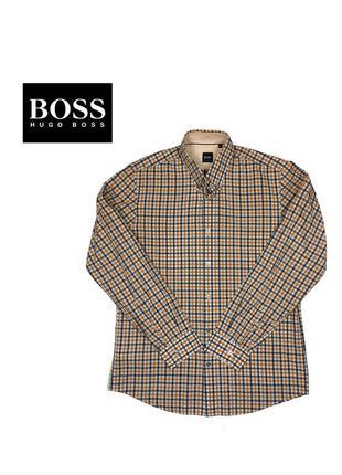 Рубашка boss hugo boss regular fit - m