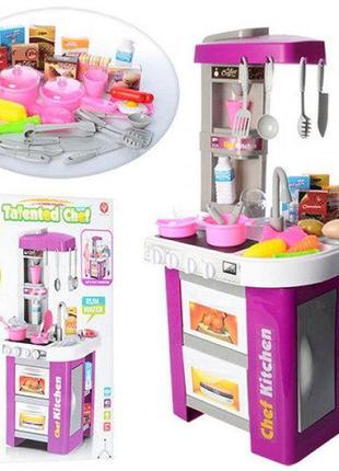 Детская игровая кухня 922-49, 49 предметов, посуда, водичка