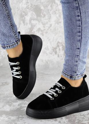 Замшевые кроссовки женские Callie