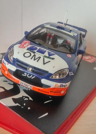 модель Peugeot 307 WRC, Altaya/Ixo, масштаб 1/43