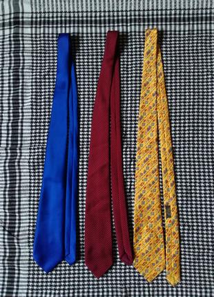 Мужские галстуки англия франция