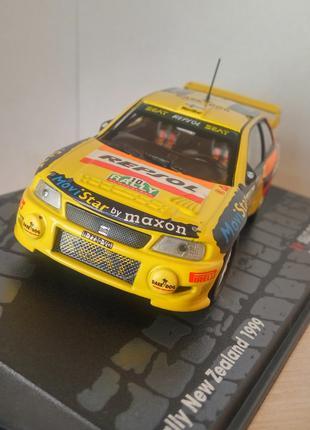 модель Seat Cordoba WRC, Altaya/Ixo, масштаб 1/43