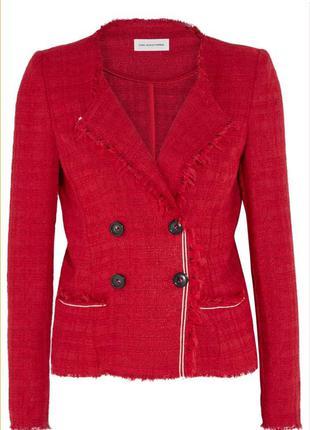 Isabel marant твидовый пиджак, блейзер, жакет из твида, оригинал