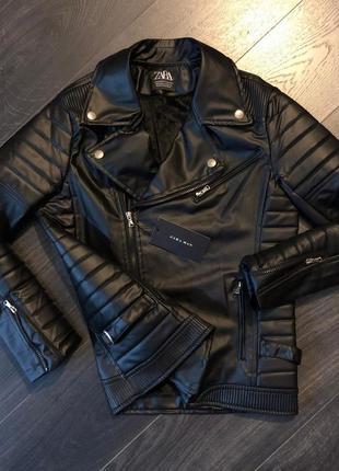 Крутая мужская косуха куртка