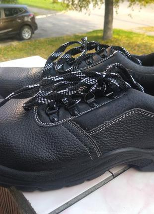 Качественые кожаные ботинки из германии