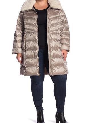 Легкий пуховик пуховое пальто парка michael kors