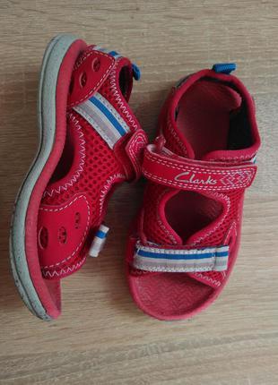 Сандали сандалики кларкс 7 размер 24