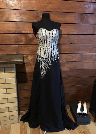 Выпускное вечернее платье в пол