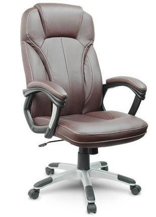 Кресло офисное AEGO коричневе крісло офісне компьютерное кресло