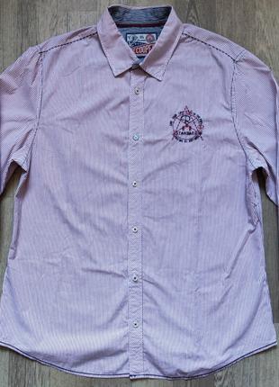 Мужская рубашка Lee Cooper размер XL, длинный рукав