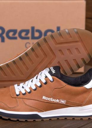 Шкіряні кросівки Reebok