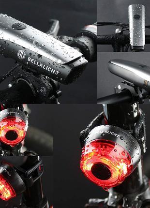 Світлодіодний набір для велосипедного світла переднє заднє велоси