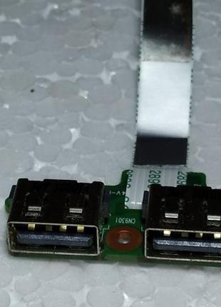 Плата USB порти з ноутбука HP 625 620