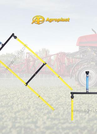 Двойной шланг для внесения жидких удобрений Agroplast RSM 0-108