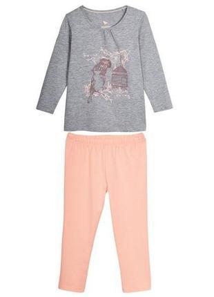 Пижама детская для девочки lupilu 180112
