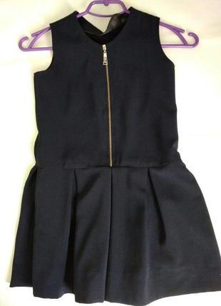 Школьная форма для девочки 5 вещей пиджак, жилетка, юбка, сара...