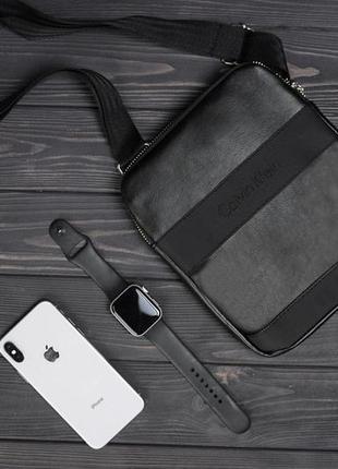 Черная сумка, барсетка