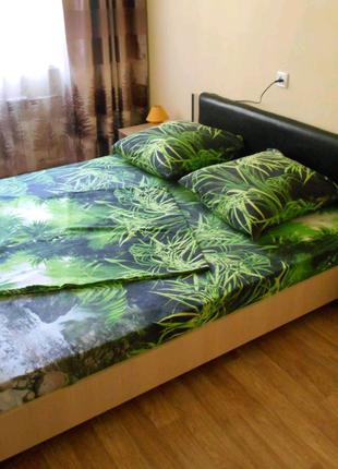 Семейное постельное бельё 3д Водопад 100 % хлопок