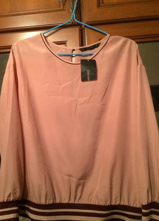 Блуза zara 52-54