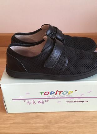 Туфли, Мокасины TOPITOP 917-5 черные р.35 Турция