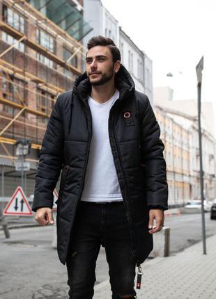 Мужская зимняя куртка.парка зимняя мужская,удлиненная куртка м...