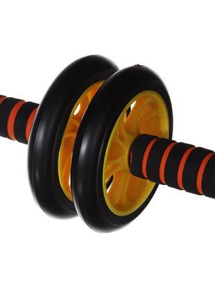 Ролик для пресса AB Wheel (0872) Желтый
