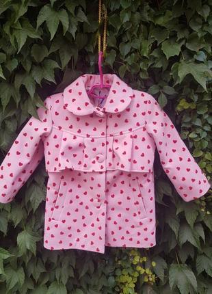 Детские пальто для девочки материал верха кашемир