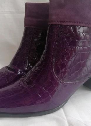 Via Milano кожаные ботинки шкіряні черевики р. 41,5 ст. 27,5