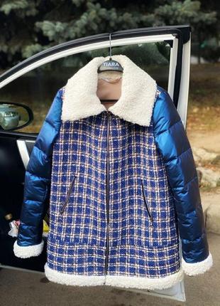 Куртка женская комбинированная зима ❄️