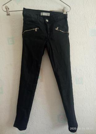 Брюки джинсы zara girls 128