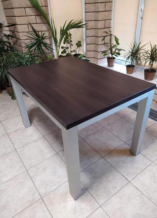 Стол кухонный, обеденный, офисный 80*120 см (ДСП и мат. алюминий)