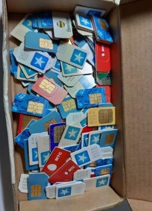 Сим карты Sim cards не рабочие