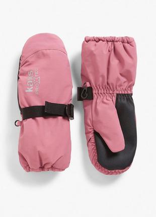 Перчатки краги на девочку funktional glove kaxs пудровые