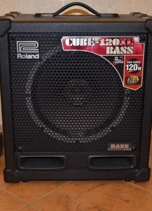 Комбопідсилювач басовий Roland Cube 120XL