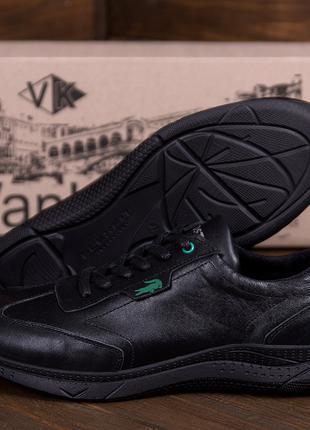 Мужские кожаные кроссовки Lacoste(40-45р)