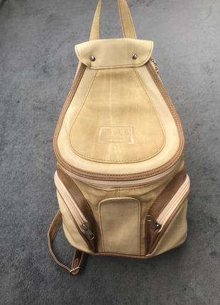 Винтажный рюкзак рюкзачек